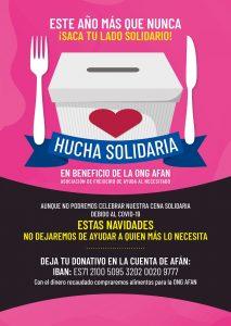 Cena Solidaria en beneficio de AFAN 2020